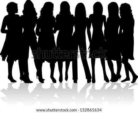 line 女性 id