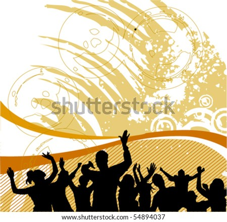 group people - stock vector