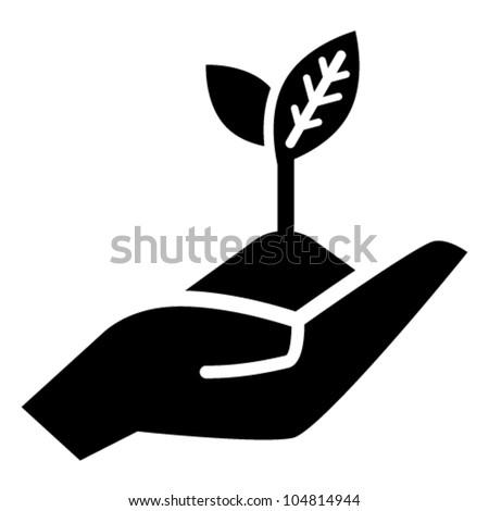 Growth concept vector icon - stock vector