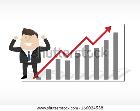 Growth up - stock vector