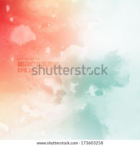 Grunge abstract background for vintage design - stock vector