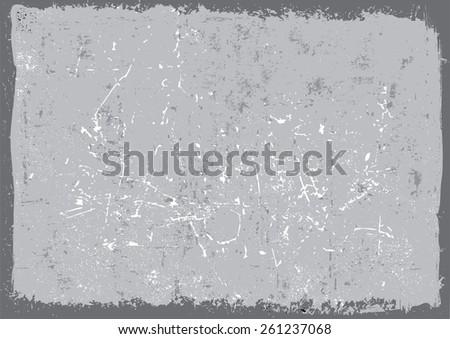 Grunge background.Distress texture.Scratch texture.Abstract vector template. - stock vector
