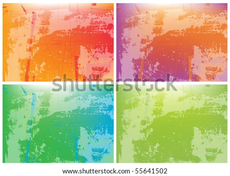 grunge background for text - stock vector