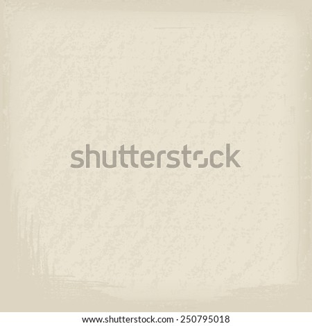 Grunge background of old paper texture. Vector illustration - stock vector
