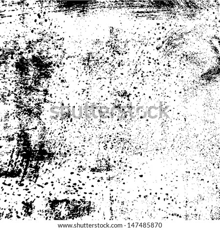 Grunge Background old dirty grainy texture. EPS10 vector. - stock vector