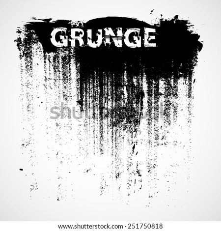 Grunge Background Texture . Vector Distress Background . Cracked Banner . Distress Texture . Grunge Texture . Dirt Texture . Overlay Texture . - stock vector