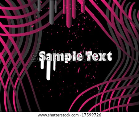 Grunge background.To see more grunge backgrounds, please VISIT MY GALLERY - stock vector