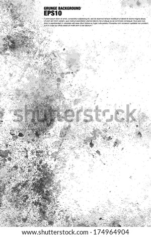Grunge background vector EPS 10 - stock vector