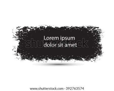 Grunge banner.Grunge background.Abstract vector template. - stock vector