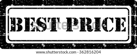 Grunge best price rubber stamp, vector illustration - stock vector