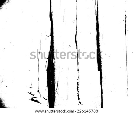 Grunge Black and White Distress Texture . Scratch Texture . Dirty Texture . Wall Background . Crack Texture . Grunge Background . Rust Texture . Vector Illustration.  - stock vector