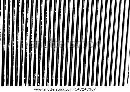 Grunge Black And White Urban Vector Texture Template. Dark Messy Dust Overlay Distress Background. Abstract Dotted, Scratched, Vintage Effect With Noise And Grain