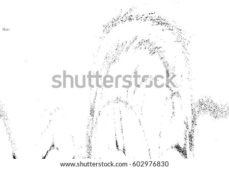Grunge Black And White Urban Vector Texture Template. Dark Messy Dust  Overlay Distress Background.