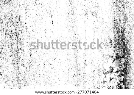 Grunge black and white wall background. EPS10 vector - stock vector