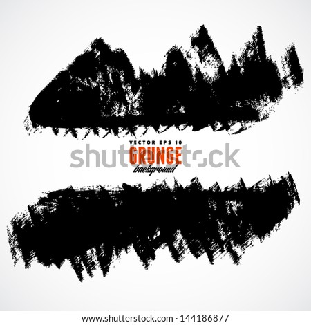 Grunge black background with copy space