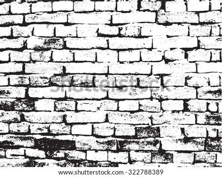 Grunge Brick Wall TextureBrick Background