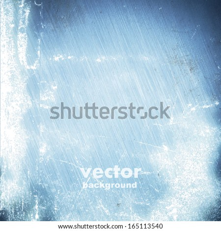 grunge brushed metal texture, vector background