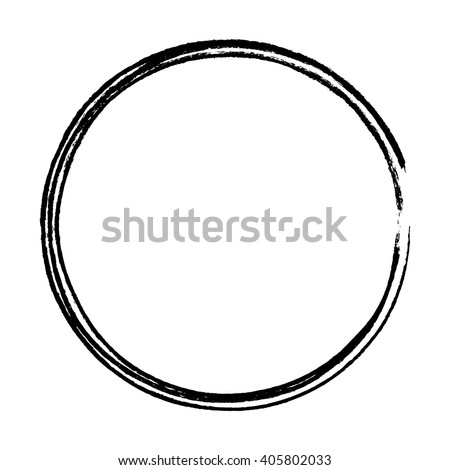 grunge circle frame vector illustration stock vector 405802033 rh shutterstock com circle vector equation circle vector equation