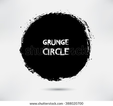 of vector grunge circle - photo #45