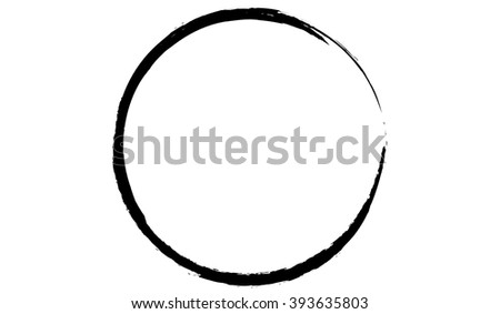grunge circle ink black vector stock vector 393635803 shutterstock rh shutterstock com ink vectoriel ink vector brush