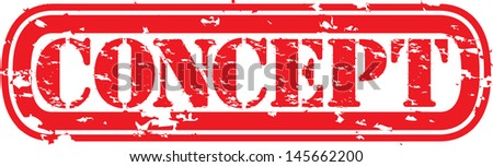 Grunge concept rubber stamp,vector illustration