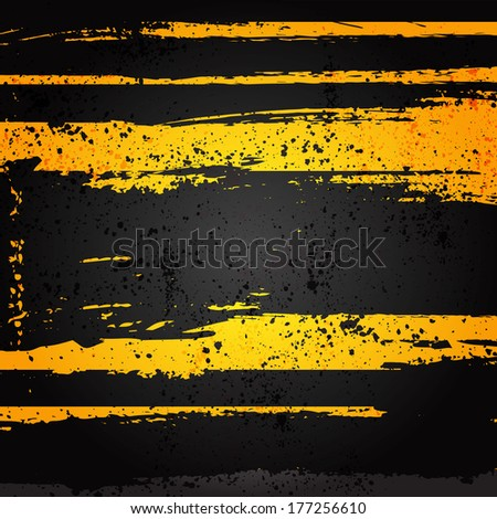 grunge danger abstract background - stock vector