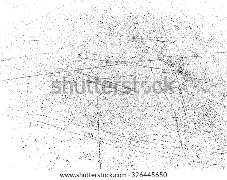 Grunge Dust  Speckled Sketch Effect Texture . The Scratch Texture . Scratched Metal . Scratched Plate . Scratched Wall . Distressed Texture . Vector Background . - stock vector