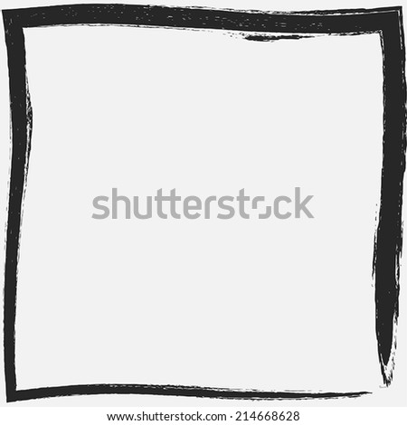 Grunge Frame texture for your design. EPS10 vector.