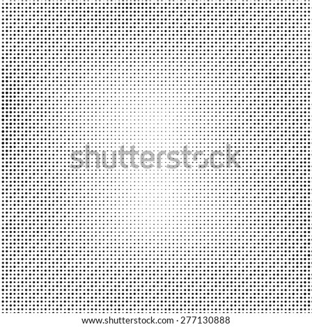 Grunge Halftone Dots Effect . Stripe vector texture background . Border Frame . Dotted Abstract Vector Texture . Distress Dirty Damaged Spotted Circles Overlay Texture . - stock vector