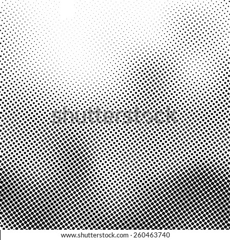 Grunge halftone dots vector texture background.  - stock vector