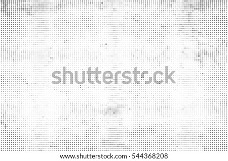 Grunge halftone vector background.Halftone dots vector texture. Black and white abstract backdrop.