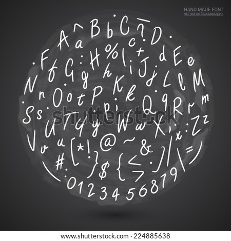Stencil alphabet stock images royalty free images for Whiteboard letter stencils