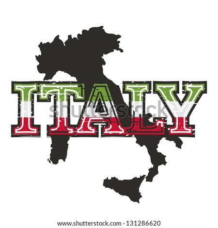 Grunge illustration sign italy letters separate vector de grunge illustration of sign for italy the letters are in a separate layer over the gumiabroncs Images