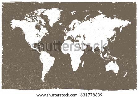 Grunge map world vintage world map stock vector royalty free grunge map of the worldntage world map gumiabroncs Images