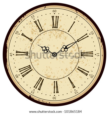 Vintage Clock Face Stock Images RoyaltyFree Images  Vectors