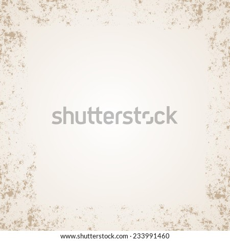 Grunge paper background with space for text or picture. Vector illustration