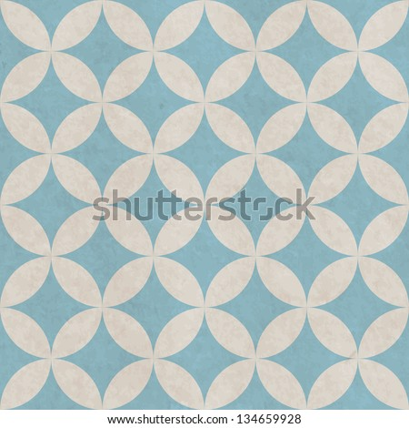Grunge paper seamless pattern with geometric texture - stock vector