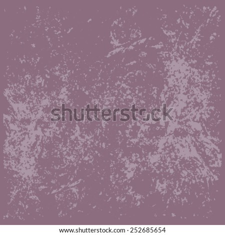 Grunge purple wall background - stock vector