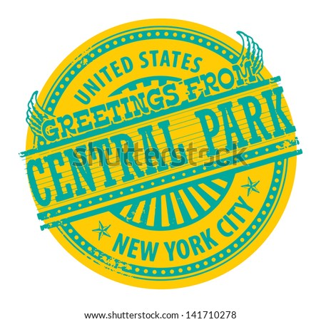 New York Parking Signs Central Park New York