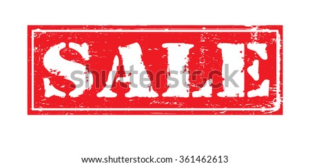 "Grunge rubber stamp with text ""sale"" inside,vector illustration"