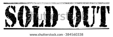 "Grunge rubber stamp with text ""sold out"",vector illustration"