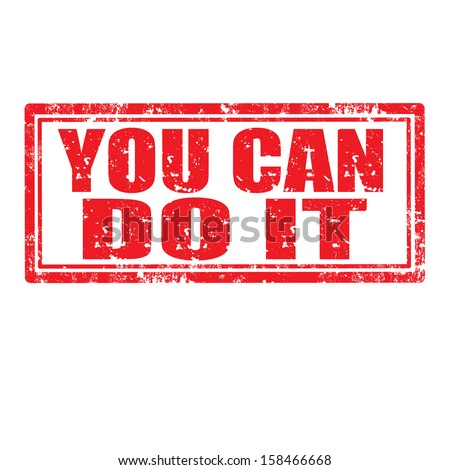 You Can Do It Clip Art Cliparts