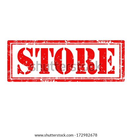 Grunge rubber stamp with word Store,vector illustration