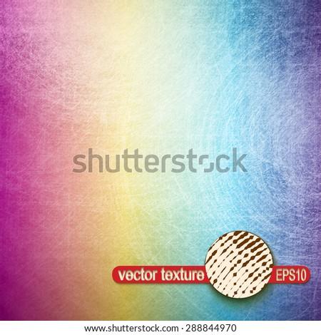 Grunge Scratch Texture. Vintage Stamp Vector Background - stock vector