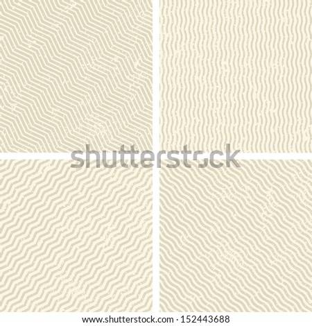 Grunge set stripe background. Vector illustration.  - stock vector