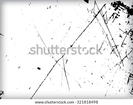 Grunge Sketch Effect Texture . The Scratch Texture . Scratched Metal . Scratched Plate . Scratched Wall . Distressed Texture . Vector Background . - stock vector