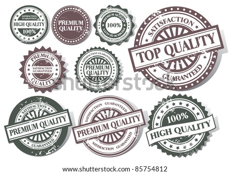 Grunge stamp 100% Premium Quality Vector collection - stock vector