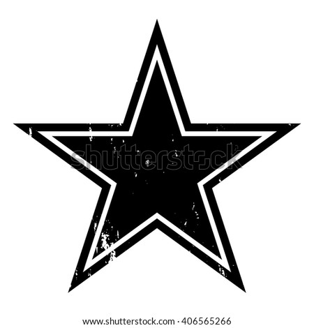 grunge star vector illustration stock vector 406565266 shutterstock rh shutterstock com star vector image star vector png