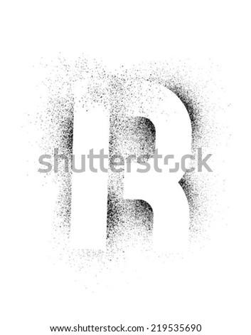 r alphabet images  grunge Stock Photos, Illustrat...
