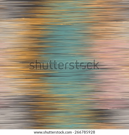 Grunge striped vertical zigzag colorful seamless pattern - stock vector